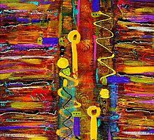 Two Keyholes by © Angela L Walker