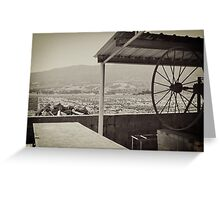 Mission Barbacoa Greeting Card