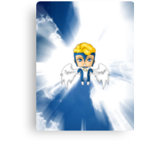 Chibi Archangel Canvas Print