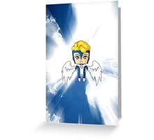Chibi Archangel Greeting Card