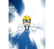 Chibi Archangel Photographic Print