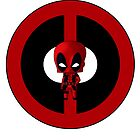 Chibi Deadpool by artwaste