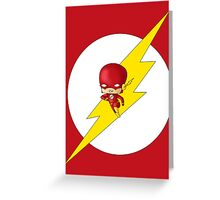 Chibi Flash Greeting Card