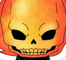 Chibi Ghost Rider Sticker