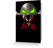 Chibi Spawn Greeting Card