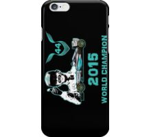 Lewis Hamilton, 2015 Formula 1 F1 drivers World Champion iPhone Case/Skin