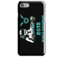 Lewis Hamilton, 2015 Formula 1 F1 drivers World Champion iPhone Case/Skin