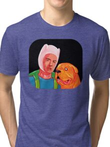 Furner And Jooch or Take And Hinn or Something Tri-blend T-Shirt