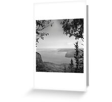 Sleeping Giant Provincial Park Greeting Card