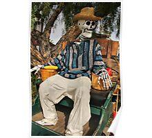 Dude de Los Muertos Poster