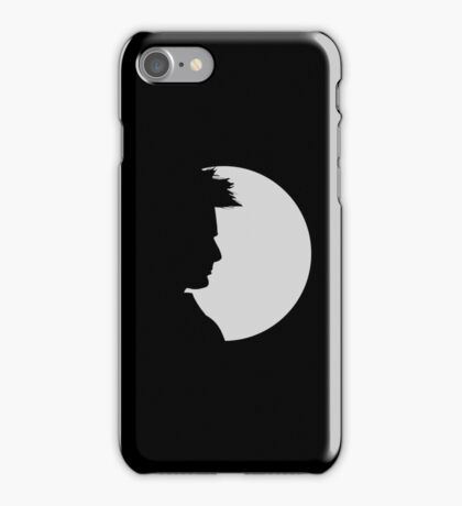 tenth doctor shadow iPhone Case/Skin