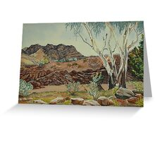 Parachilna Gorge Greeting Card