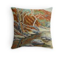 Redbank Gorge, West MacDonnell Ranges, NT Throw Pillow