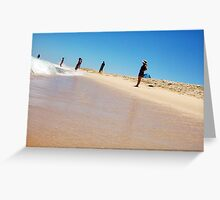 Beautiful Woman Seven - 27 10 12 Greeting Card