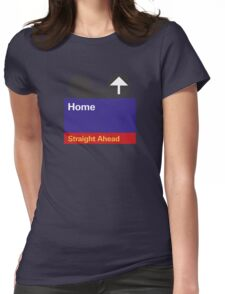 Goin' Home Womens Fitted T-Shirt