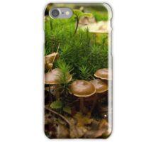 Between the mosses iPhone Case/Skin