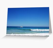 Police Boat One - 27 10 12 Greeting Card