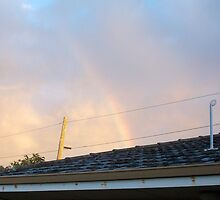 Rainbow Roof Seven - 23 10 12 by Robert Phillips