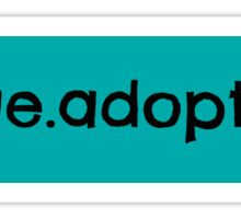 rescue.adopt.love Sticker