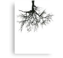 Upside Trees Canvas Print