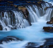 The Blue Waterfalls by Dominique Dubied