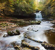 West Burton Falls by Nick Atkin