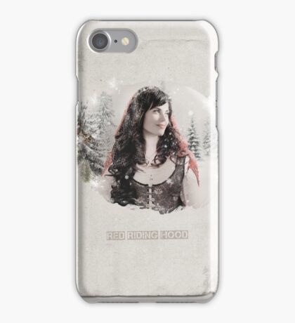Christmas Special - Red Riding Hood iPhone Case/Skin