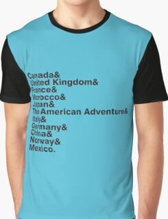 The World Showcase Graphic T-Shirt