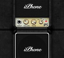 Marshall Guitar Amplifier – iPhone 5 Case by Alisdair Binning