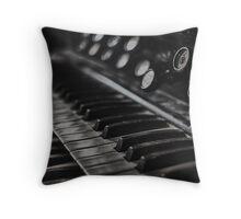 Old Organ Throw Pillow