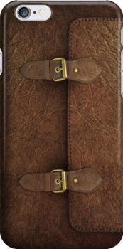 Brown Leather Satchel by Alisdair Binning
