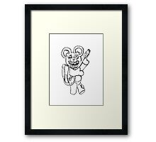 Teddy! Framed Print