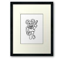 Teddy! Framed Print