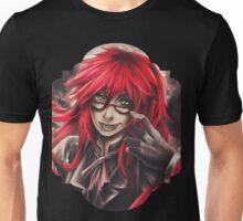Black Butler: Grell Unisex T-Shirt