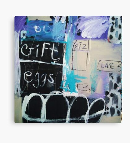 Post-it note,note Canvas Print