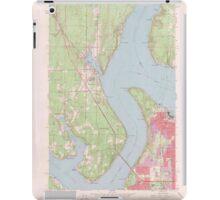 USGS Topo Map Washington State WA Gig Harbor 241268 1959 24000 iPad Case/Skin