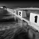 Ocean 10 - B&W by Michael Howard