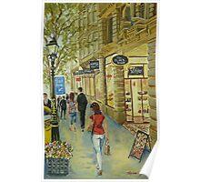 Block Arcade, Collins Street, Melbourne Poster