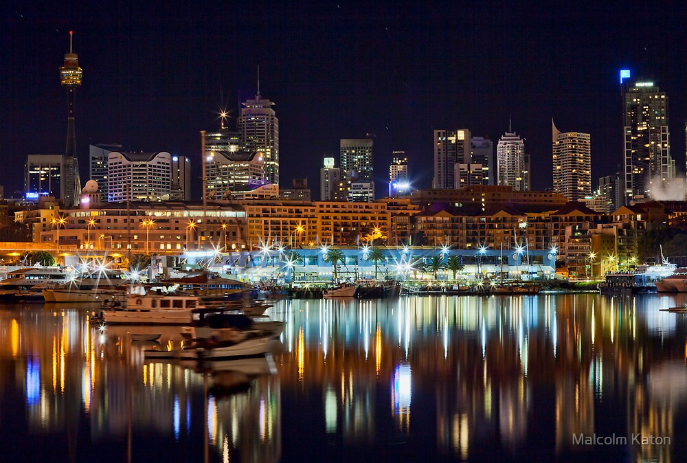 Sydney Fish Markets by Malcolm Katon