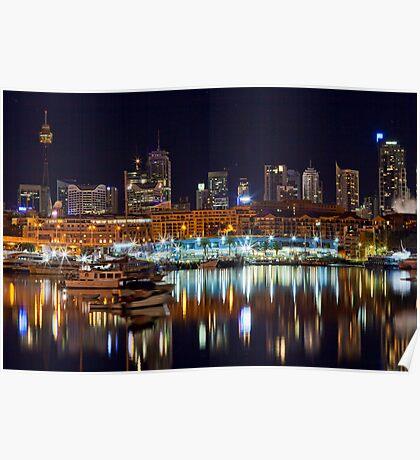 Sydney Fish Markets Poster
