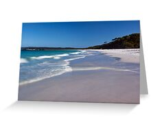 Hyams Beach, NSW Greeting Card