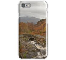 Portrait Ashness bridge iPhone Case/Skin