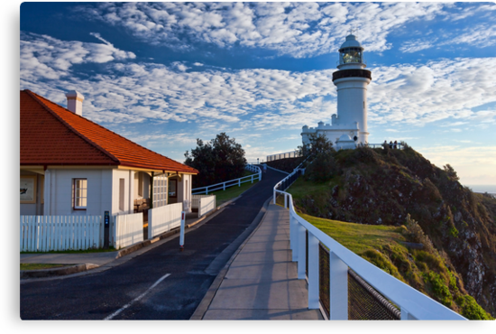 Byron Bay Lighthouse by Malcolm Katon