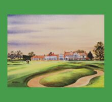 Muirfield Golf Course 18Th Green Baby Tee