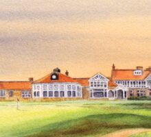 Muirfield Golf Course 18Th Green Sticker