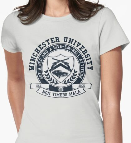Winchester U Womens Fitted T-Shirt