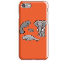 I Am Thankful For Paenungulates iPhone Case/Skin