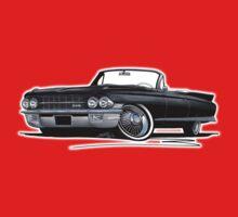 Cadillac Eldorado Biarritz (1962) Black One Piece - Short Sleeve