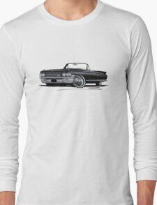 Cadillac Eldorado Biarritz (1962) Black Long Sleeve T-Shirt