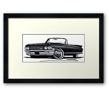 Cadillac Eldorado Biarritz (1962) Black Framed Print